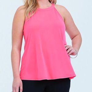 TORRID Pink Studio Knit Goddess Tank size 2 NWT
